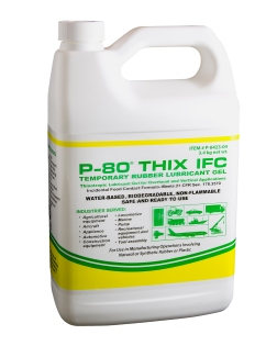 P-80 THIX IFC Rubber Lubricant Gel