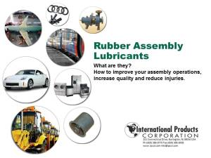 P-80 Rubber Assembly Lubricants Webinar